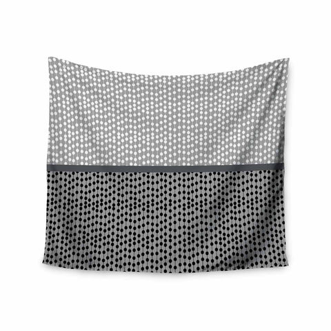 "Trebam ""Okomito"" Gray Black Digital Wall Tapestry"