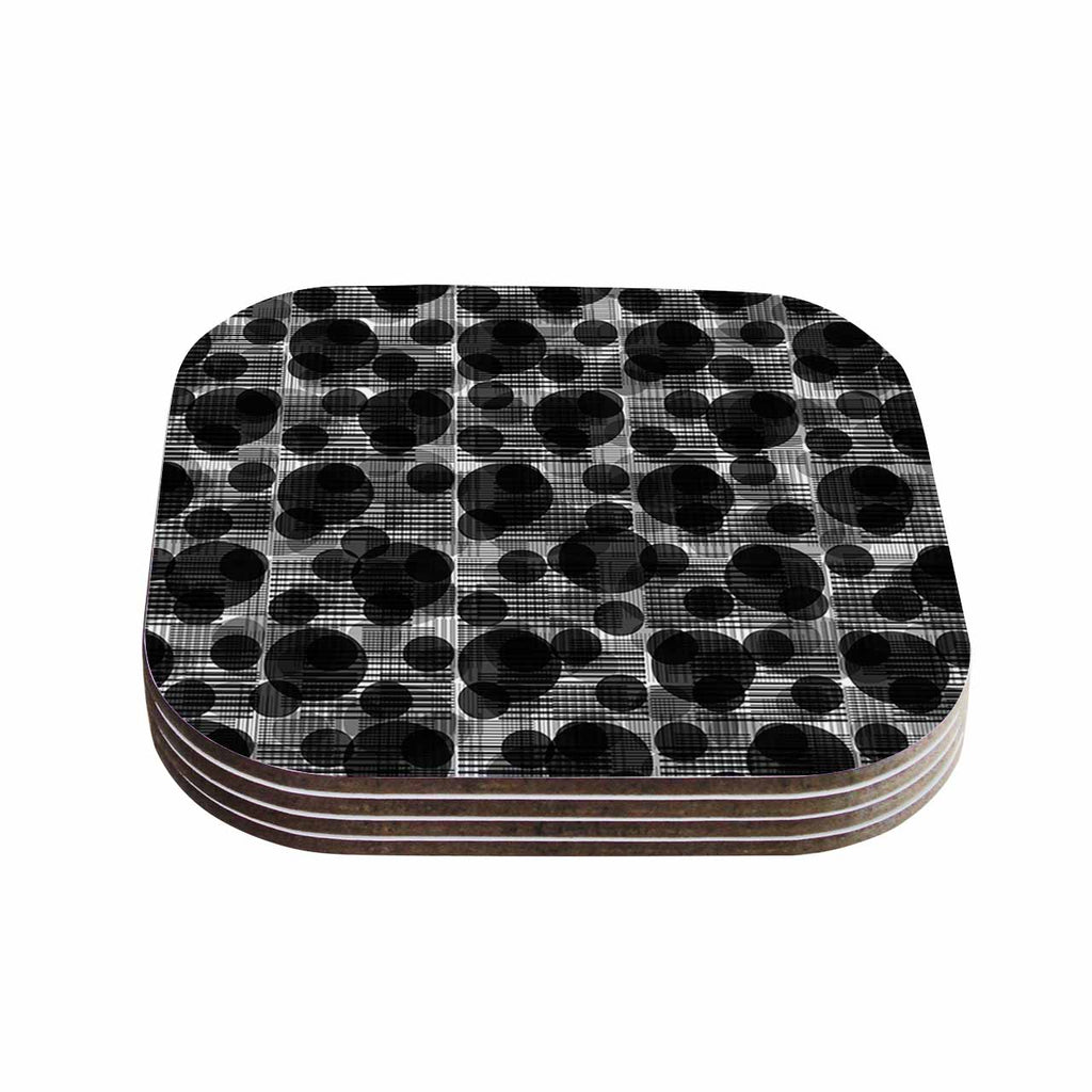 "Trebam ""Guma Black"" Guma Black Coasters (Set of 4)"