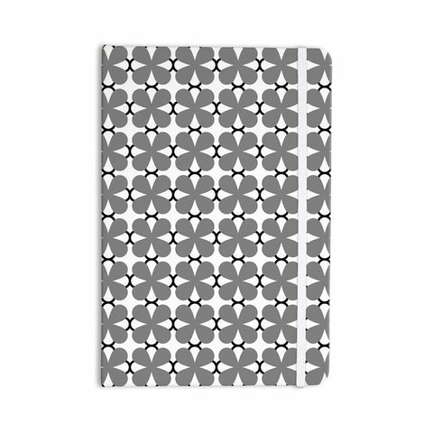 "Trebam ""Lepeza"" Gray White Modern Contemporary Digital Vector Everything Notebook"
