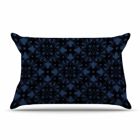 "Trebam ""Povezati"" Black White Modern Contemporary Digital Vector Pillow Sham"