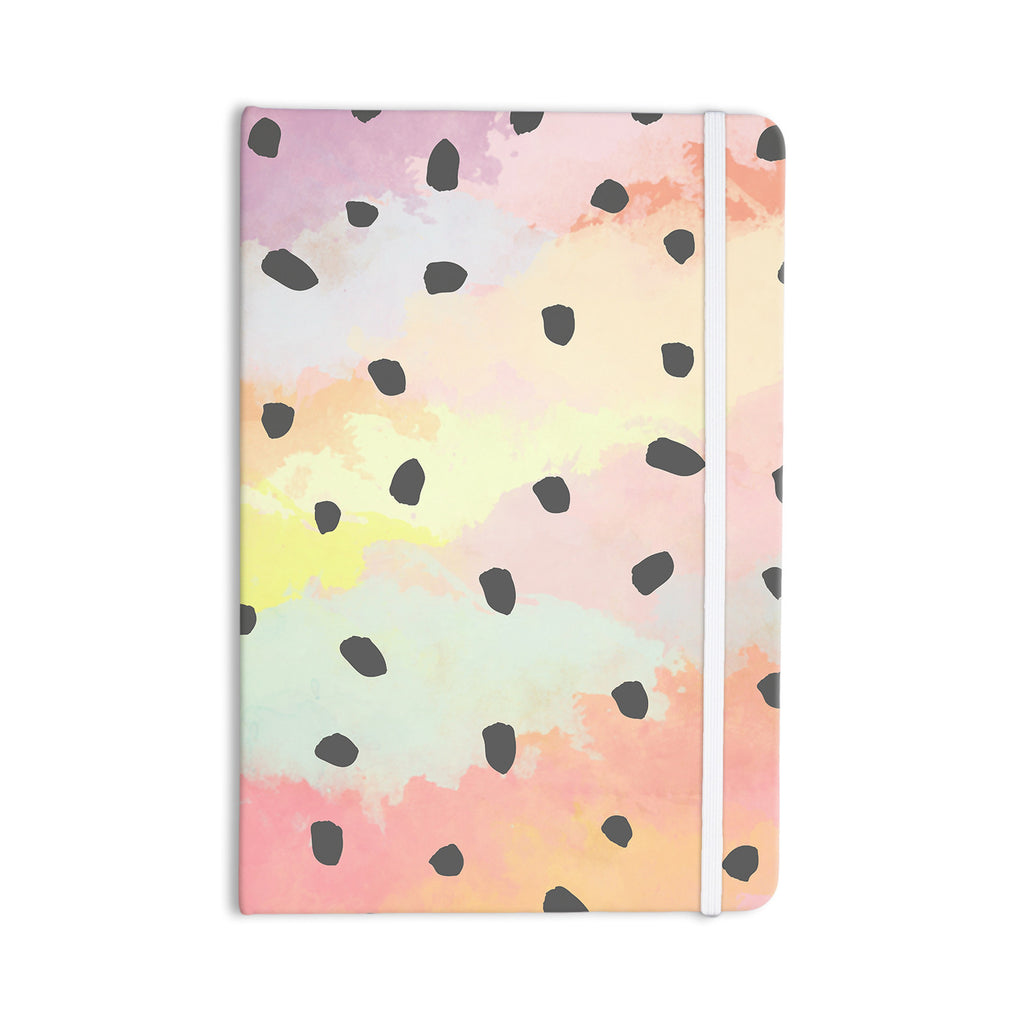 "Strawberringo ""With Dots"" Pastel Painting Everything Notebook - KESS InHouse  - 1"
