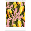 "83 Oranges ""Hello Sweetness"" Gold Yellow Illustration Fine Art Gallery Print"
