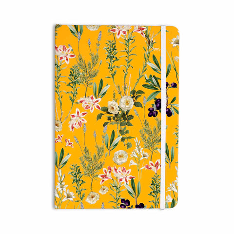 "83 Oranges ""Yellow Botanical Garden"" Yellow Olive Nature Floral Illustration Digital Everything Notebook"