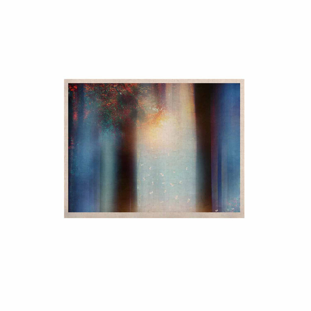 "Viviana Gonzalez ""Hope In Blue Part II"" Aqua Red KESS Naturals Canvas (Frame not Included) - KESS InHouse  - 1"
