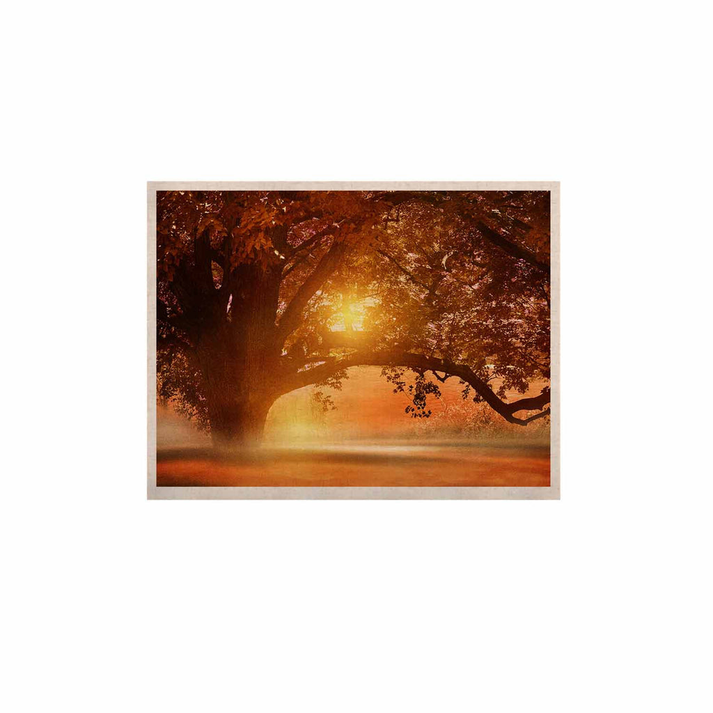 "Viviana Gonzalez ""Romance In Autumn"" Orange Gold KESS Naturals Canvas (Frame not Included) - KESS InHouse  - 1"