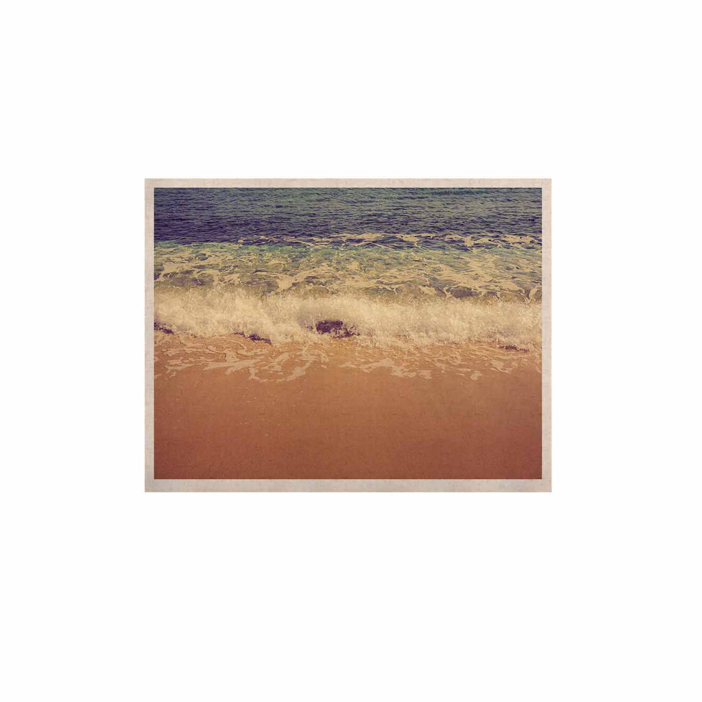 "Violet Hudson ""Crashing Waves"" Beach Coastal KESS Naturals Canvas (Frame not Included) - KESS InHouse  - 1"