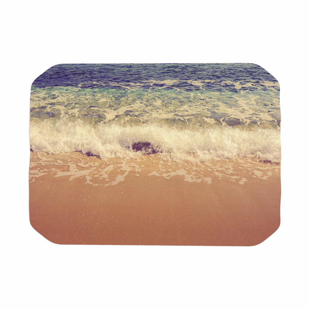 "Violet Hudson ""Crashing Waves"" Beach Coastal Place Mat - KESS InHouse"