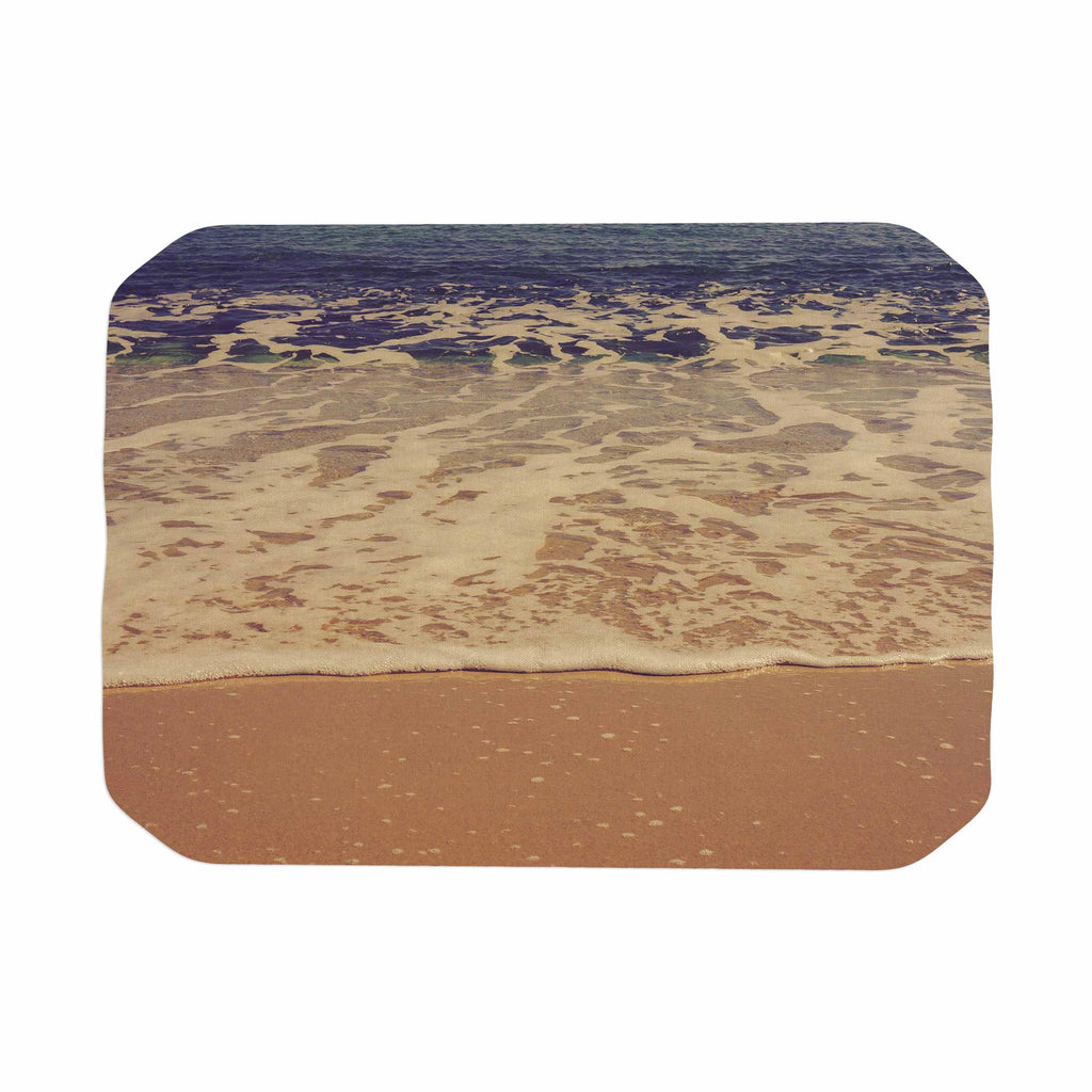 "Violet Hudson ""Ombre Beach"" Brown Blue Place Mat - KESS InHouse"