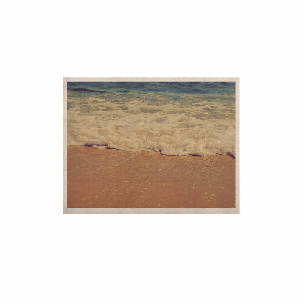 "Violet Hudson ""Sandy"" Brown Coastal KESS Naturals Canvas (Frame not Included) - KESS InHouse  - 1"