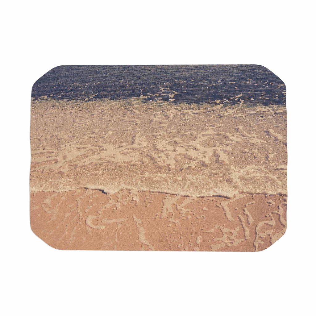 "Violet Hudson ""Crystal Water"" Brown Tan Place Mat - KESS InHouse"