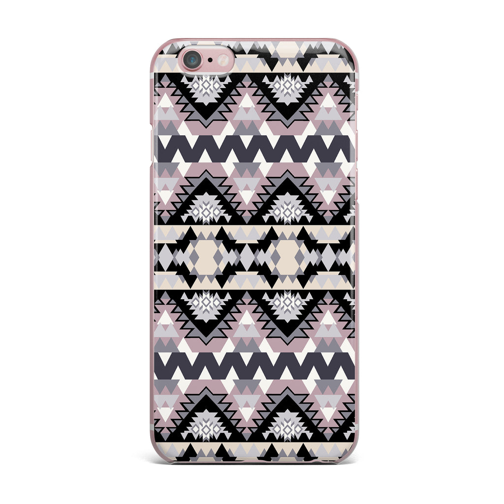 "Victoria Krupp ""Nordic Ice"" Black Pastel Digital iPhone Case - KESS InHouse"