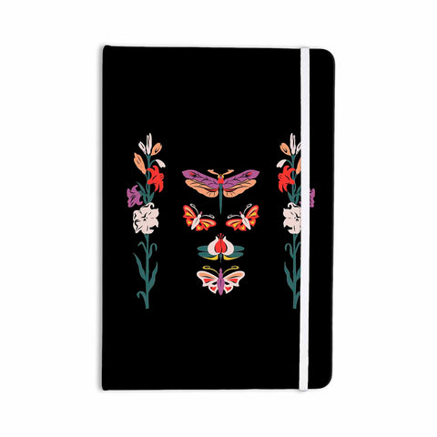 "Victoria Krupp ""Timeless"" Magenta Black Modern Fantasy Vector Illustration Everything Notebook"