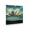 "888 Design ""The Knowledge Keeper"" Blue Fantasy Canvas Art - KESS InHouse  - 1"