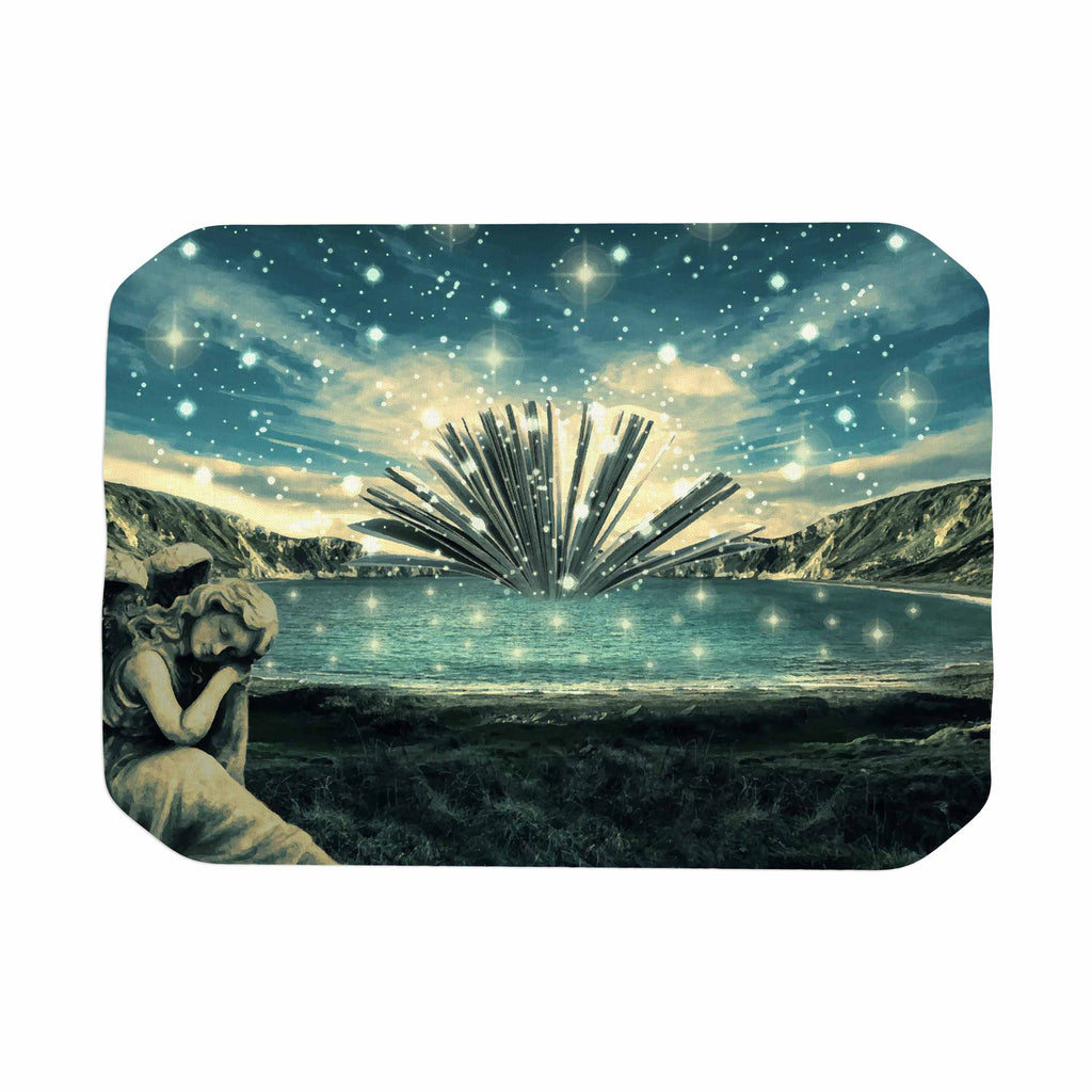 "888 Design ""The Knowledge Keeper"" Blue Fantasy Place Mat - KESS InHouse"