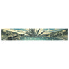 "888 Design ""The Knowledge Keeper"" Blue Fantasy Table Runner - KESS InHouse  - 1"