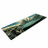 "888 Design ""The Knowledge Keeper"" Blue Fantasy Yoga Mat - KESS InHouse  - 1"