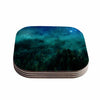 "888 Design ""Forest Night"" Green Digital Coasters (Set of 4)"