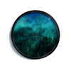 "888 Design ""Forest Night""  Modern Wall Clock"