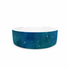 "888 Design ""Forest Night"" Green Digital Pet Bowl - KESS InHouse"