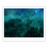 "888 Design ""Forest Night"" Green Digital Fine Art Gallery Print - KESS InHouse"