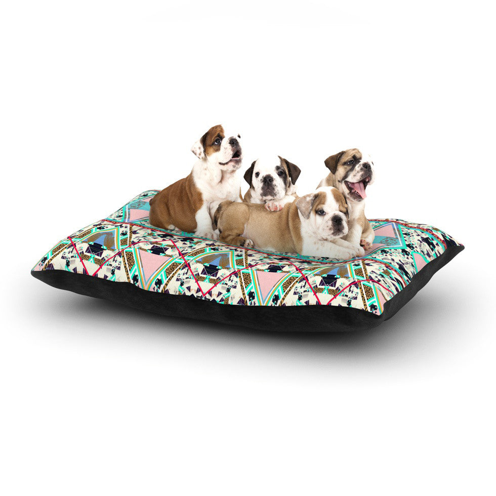 "Vasare Nar ""Deco Hippie"" Dog Bed - KESS InHouse  - 1"