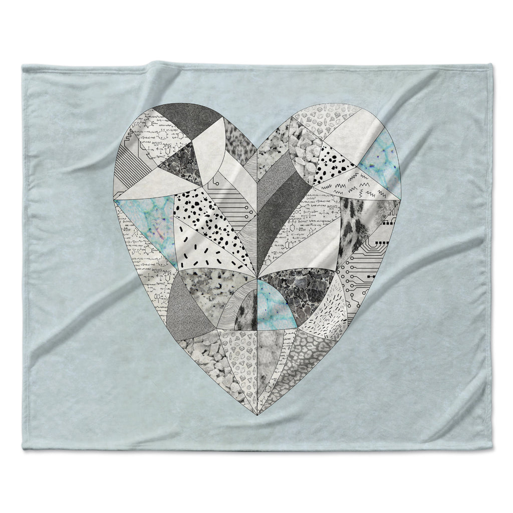 "Vasare Nar ""Comheartment"" Fleece Throw Blanket"