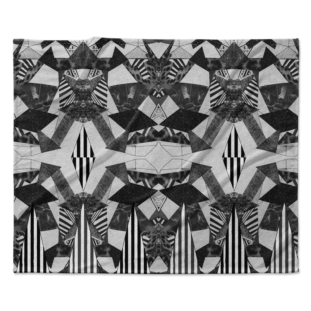 "Vasare Nar ""Tessellation"" Fleece Throw Blanket"