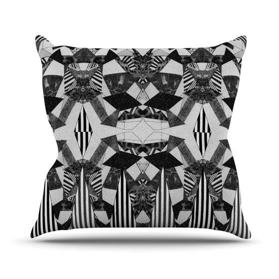 "Vasare Nar ""Tessellation"" Outdoor Throw Pillow - KESS InHouse  - 1"