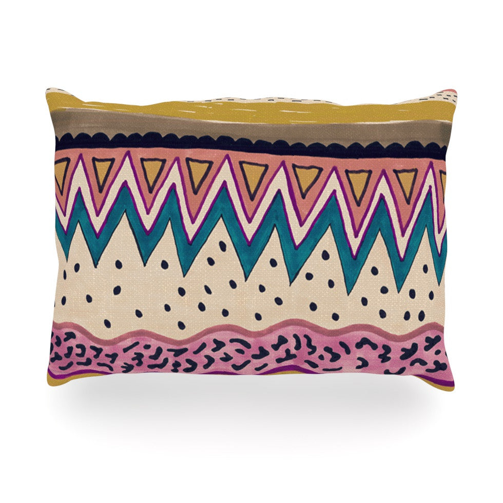 "Vasare Nar ""Koko"" Oblong Pillow - KESS InHouse"