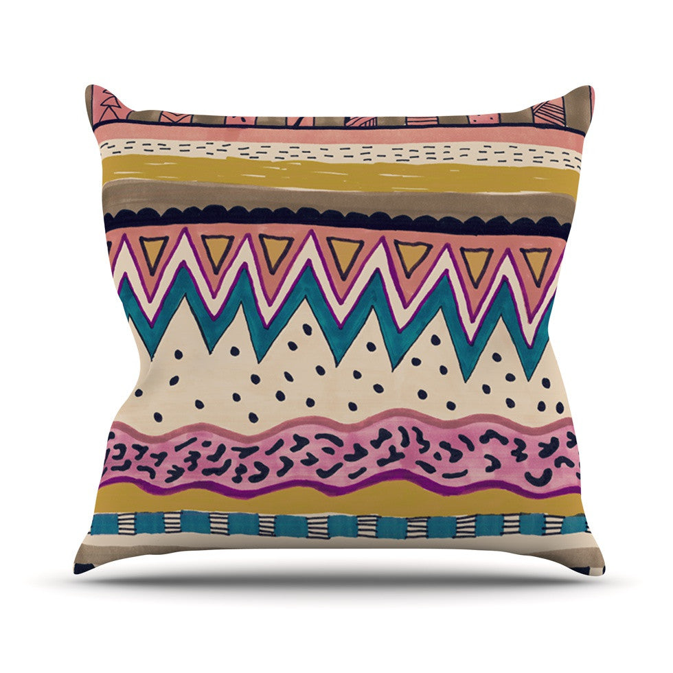 "Vasare Nar ""Koko"" Throw Pillow - KESS InHouse  - 1"