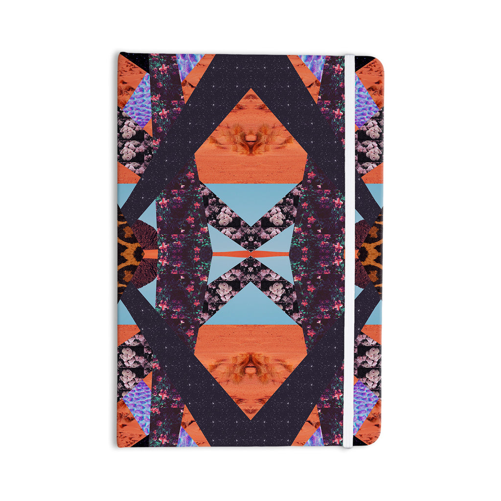 "Vasare Nar ""Pillow Kaleidoscope "" Purple Orange Everything Notebook - KESS InHouse  - 1"