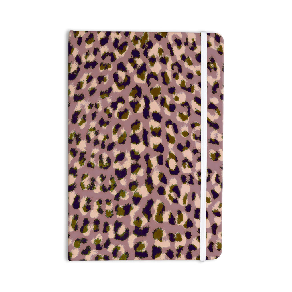 "Vasare Nar ""Leo Cheetah"" Animal Pattern Everything Notebook - KESS InHouse  - 1"