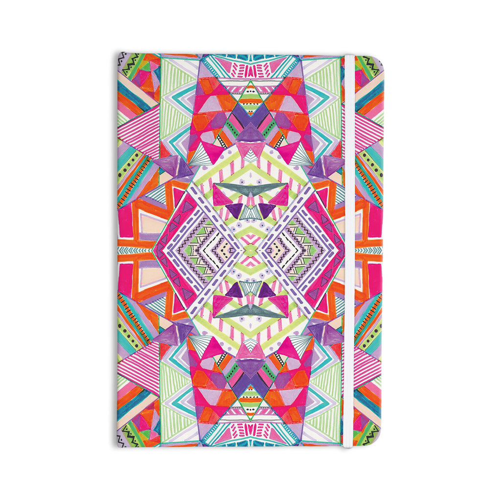 "Vasare Nar ""Carrousel"" Geometric Rainbow Everything Notebook - KESS InHouse  - 1"