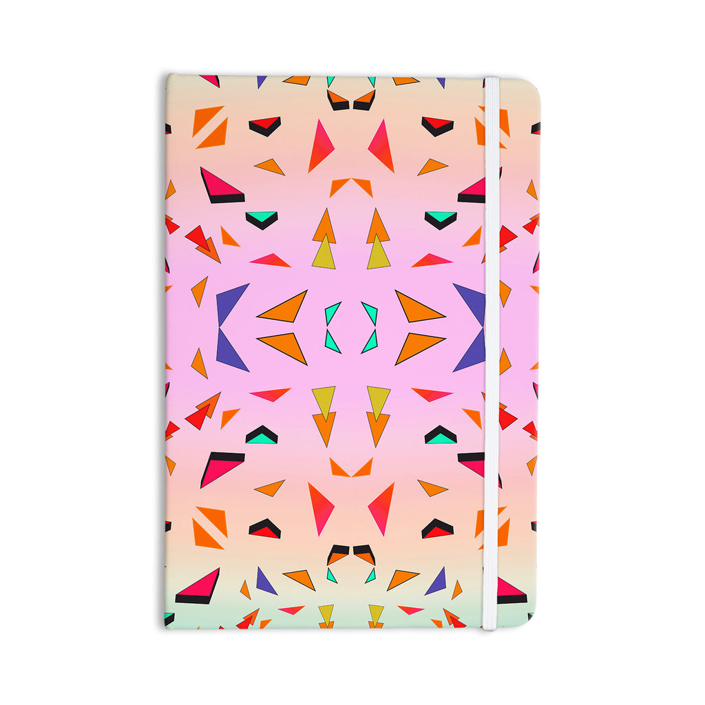 "Vasare Nar ""Candy Land Tropical"" Pink Geometric Everything Notebook - KESS InHouse  - 1"