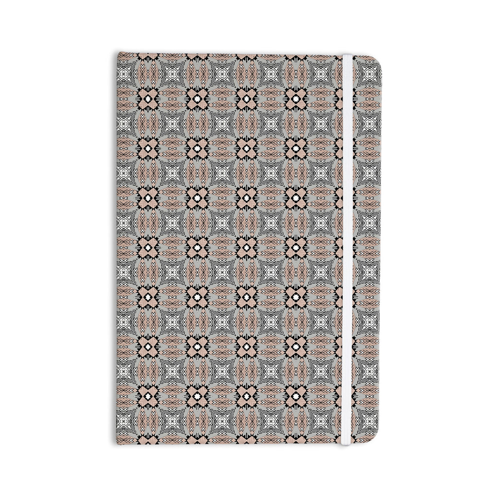 "Vasare Nar ""African Nomad"" Brown Pattern Everything Notebook - KESS InHouse  - 1"