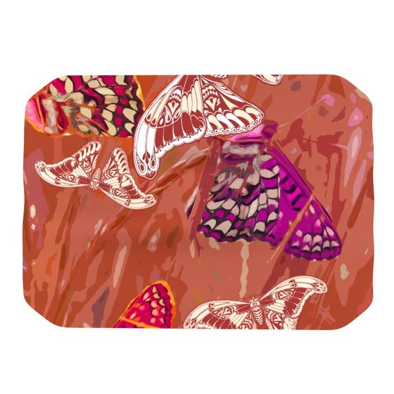 "Vikki Salmela ""Butterflies Party""  Place Mat - KESS InHouse"