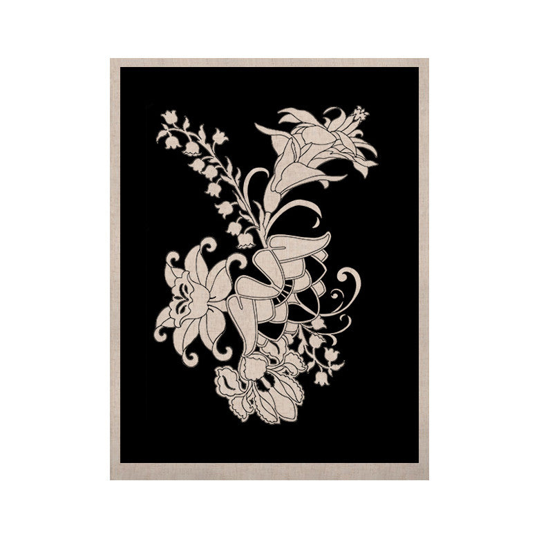 "Vikki Salmela ""My Garden"" KESS Naturals Canvas (Frame not Included) - KESS InHouse  - 1"