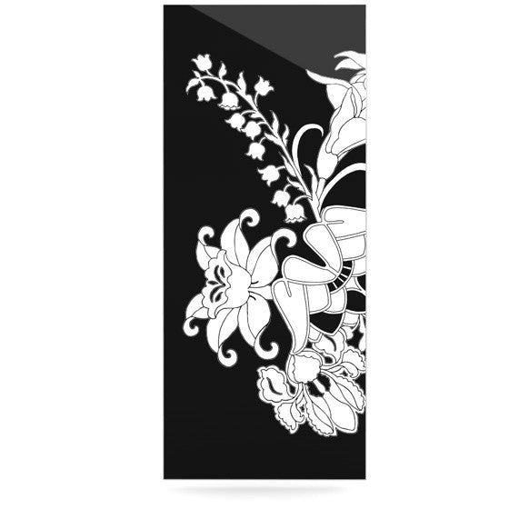 "Vikki Salmela ""My Garden"" Luxe Rectangle Panel - KESS InHouse  - 1"
