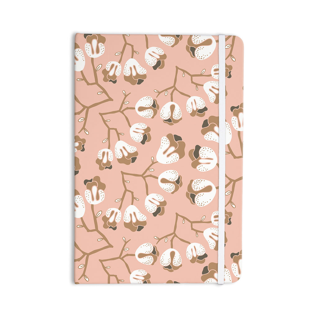 "Very Sarie ""Hope for the Flowers III"" Pink White Everything Notebook - KESS InHouse  - 1"