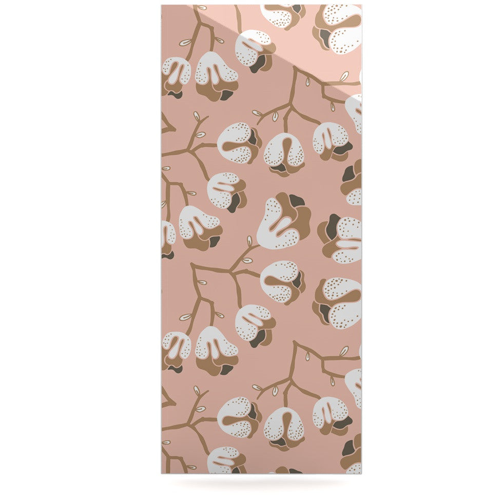 "Very Sarie ""Hope for the Flowers III"" Pink White Luxe Rectangle Panel - KESS InHouse  - 1"
