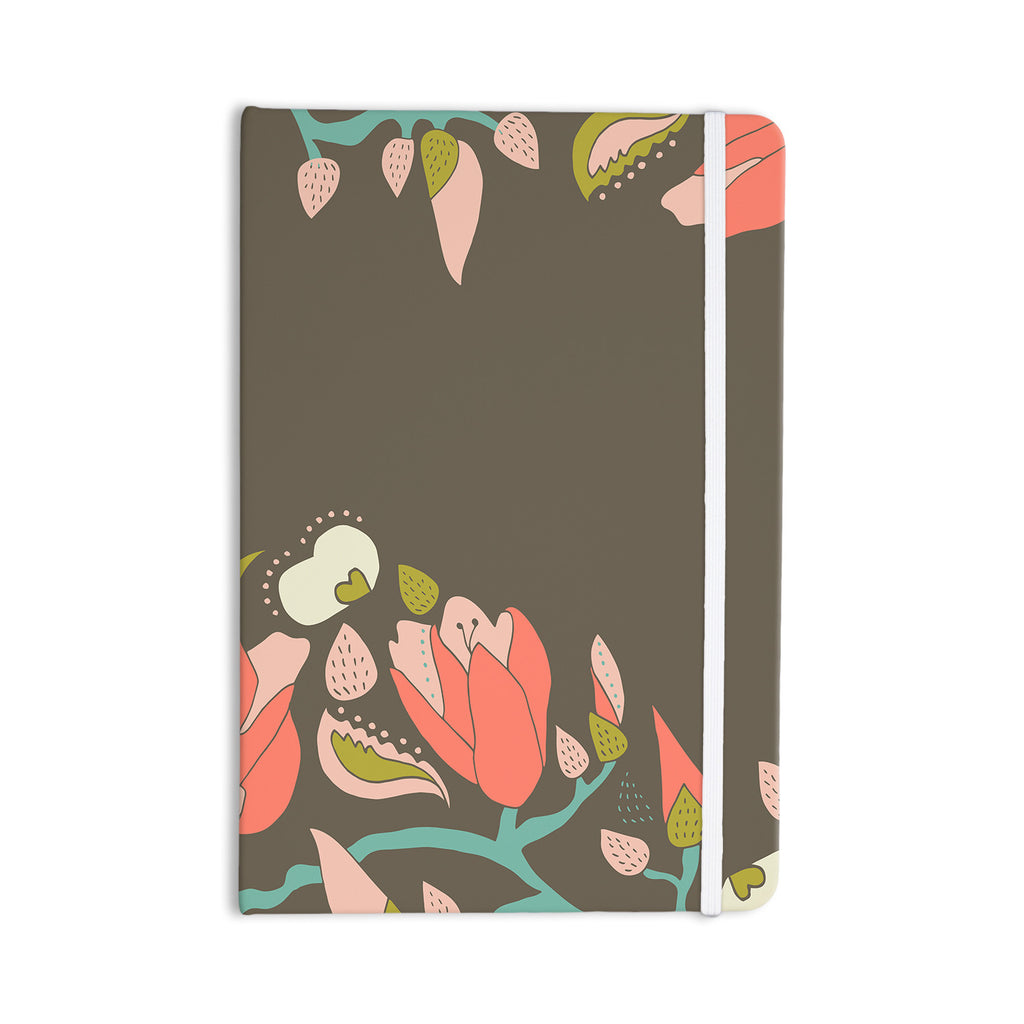 "Very Sarie ""Penelope I"" Brown Coral Everything Notebook - KESS InHouse  - 1"