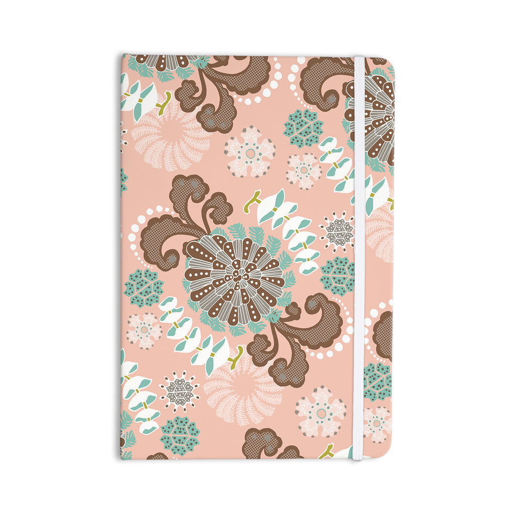 "Very Sarie ""Sea Carnival"" Pink Teal Everything Notebook - KESS InHouse  - 1"