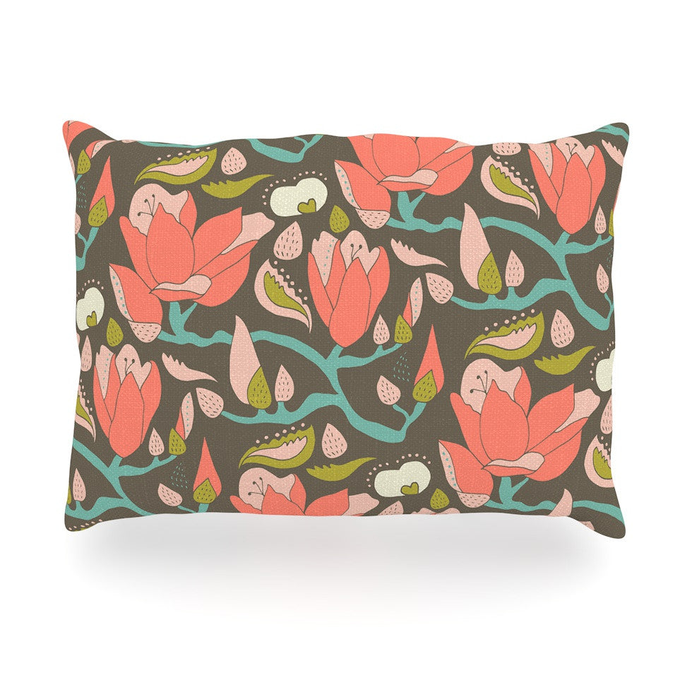 "Very Sarie ""Penelope II"" -Tags Oblong Pillow - KESS InHouse"