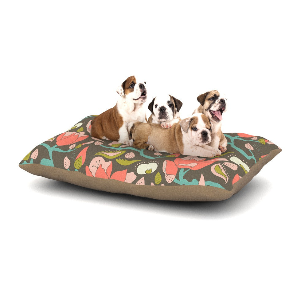 "Very Sarie ""Penelope II"" -Tags Dog Bed - KESS InHouse  - 1"