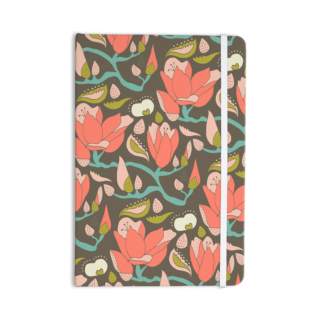 "Very Sarie ""Penelope II"" Brown Coral Everything Notebook - KESS InHouse  - 1"