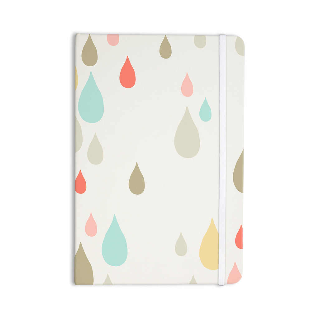 "Very Sarie ""Rainy Days"" Multicolor Rain Everything Notebook - KESS InHouse  - 1"