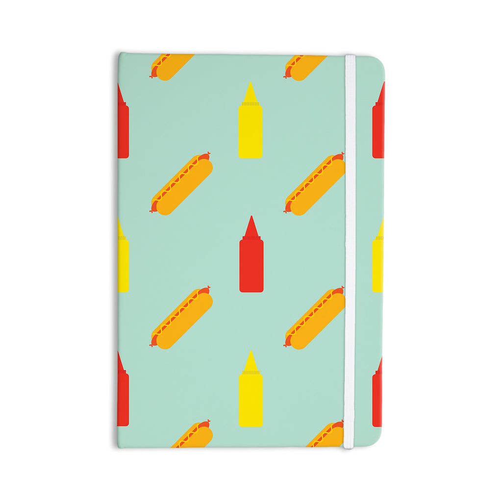 "Will Wild ""Hot Dog Pattern"" Food Everything Notebook - KESS InHouse  - 1"
