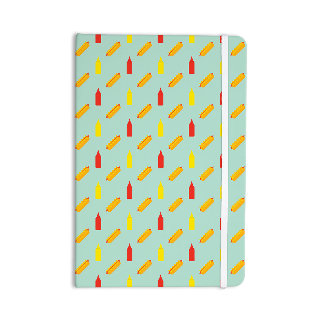 "Will Wild ""Hot Dog Pattern II"" Food Everything Notebook - KESS InHouse  - 1"