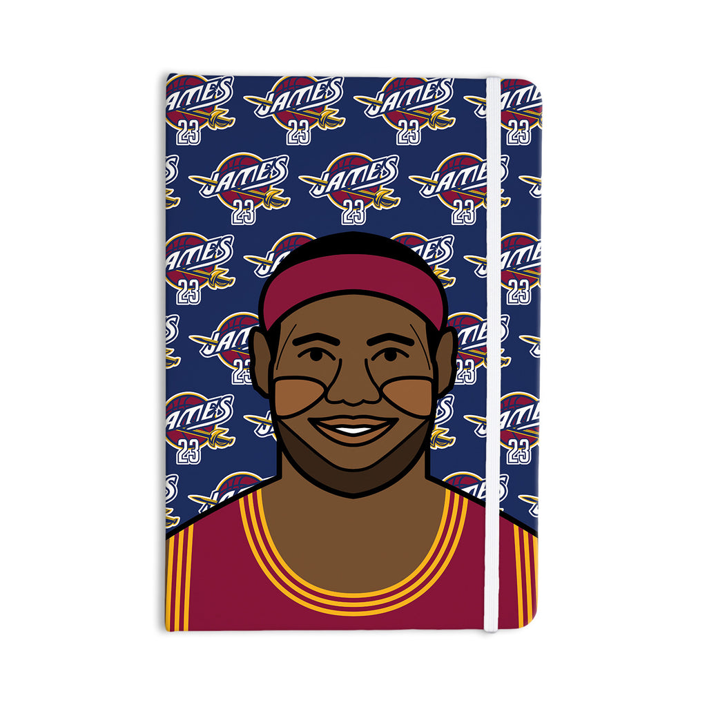 "Will Wild ""Lebron James"" Basketball Everything Notebook - KESS InHouse  - 1"