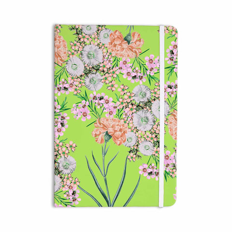 "Zala Farah ""Natural Beauty"" Green Floral Digital Everything Notebook"